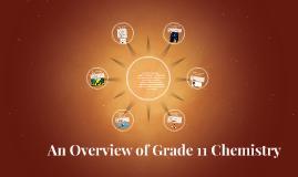 Grade 11 Chemistry