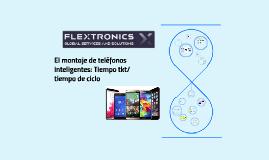 El montaje de teléfonos inteligentes: Tiempo tkt/tiempo de c