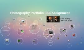Photography Portfolio FSE Assignment