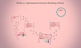 Módulo 23 - Departamento Comercial e Marketing