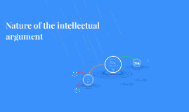 Nature of the intellectual argument
