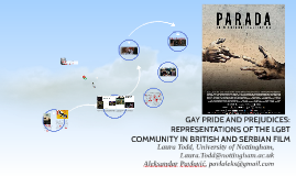 GAY PRIDE AND PREJUDICES: REPRESENTATIONS OF THE LGBT COMMUNITY IN BRITISH AND SERBIAN FILM