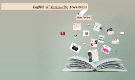 Copy of English 3U Summative Assessment