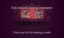 Award Closing Ceremony