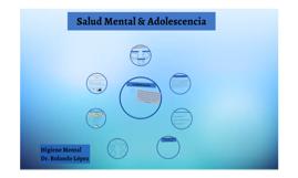 Salud Mental & Adolescencia