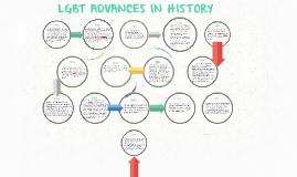LGBT ADVANCES IN HISTORY