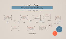 Volunteer Toronto's History