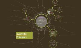 Ayurvedic Principles