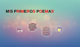 Mis Primeros Poemas