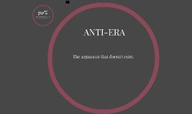 ANTI-ERA