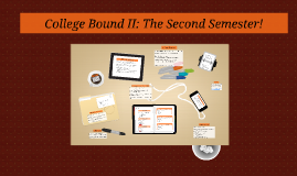 College Bound II: The Second Semester!