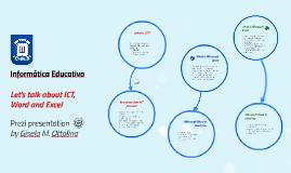 Copy of Informática Educativa