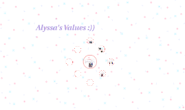 Alyssa's Values :))