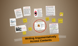 Copy of Teaching Students to Write Argumentatively