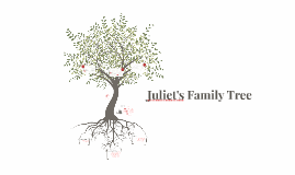 Juliet's Family Tree