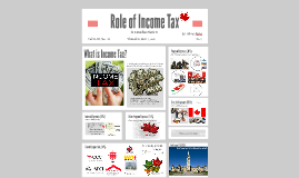 Role of Income Tax
