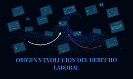 Copy of ORIGEN Y EVOLUCION DEL DERECHO LABORAL