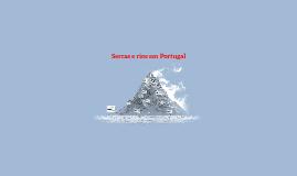 Serras e rios em Portugal