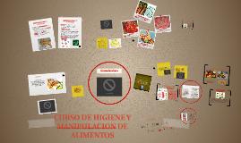 Copy of CURSO DE HIGIENE Y MANIPULACION DE ALIMENTOS