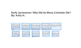 early jamestown why did so many colonists die by kelly ho on prezi