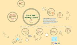 Fritz's SKKU Writing Course