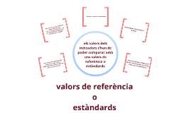 Valors de referència o estàndards