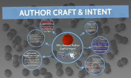 AUTHOR CRAFT & INTENT