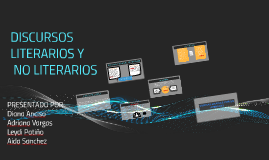 Copy of DISCURSOS LITERARIOS NO LITERARIOS