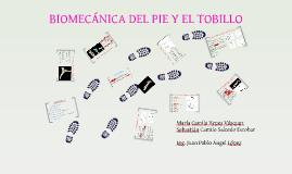 Biomecánica del Pie y el Tobillo