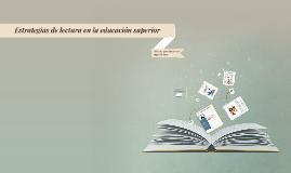 Educación superior y lectura