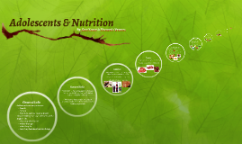 Adolescents & Nutrition
