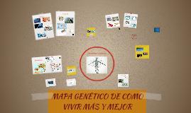 MAPA GENÉTICO DE COMO VIVIR MAS Y MEJOR