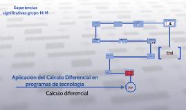 Aplicación del Cáculo Diferencial en Pogramas de Tecnología