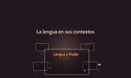 La lengua en sus contextos