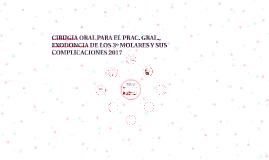 CIRUGIA ORAL PARA EL PRAC. GRAL., EXODONCIA DE LOS 3º MOLARE