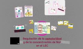 Regulación de la osmolaridad y de la concentración de Na+ en