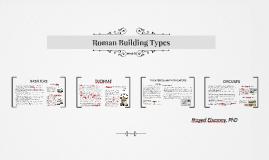 Roman Building Types