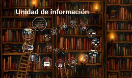 Unidad de información (Informe)