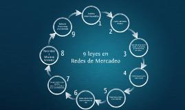 9 leyes en REDES DE MERCADEO