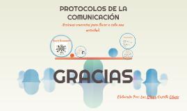 PROTOCOLOS DE LA COMUNICACIÓN