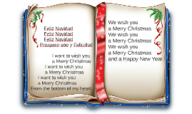 Copy of Feliz Navidad - We wish you a Merry Christmas