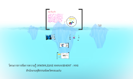โครงการการจัดการความรู้ (KNOWLEDGE MANAGEMENT : KM)