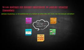 EC 5.5: Maîtrise des savoirs didactiques en langues vivantes