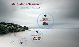 Mr. Ruder's Classroom