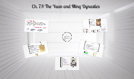 Ch. 7.4 The Yuan and Ming Dynasties