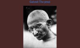 Gahndi The prezi