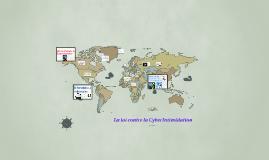 La loi contre la Cyberintimidation