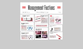 Management Fuctions