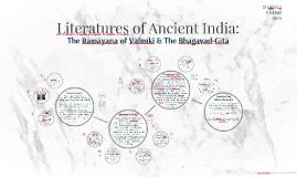 Literatures of Ancient India: