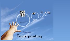 Forensics Fingerprinting